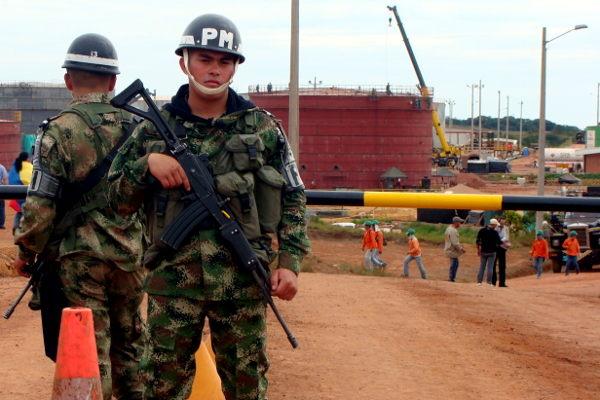 Colombia – Arauca: militarización por el petróleo