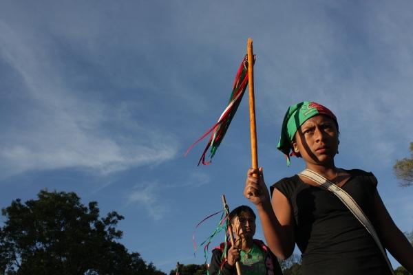 Guardia indígena nasa - Foto: Plaxy