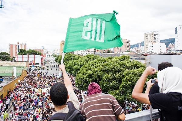 Marchas de estudiantes de la UIS - Foto: Melissa  Ortiz