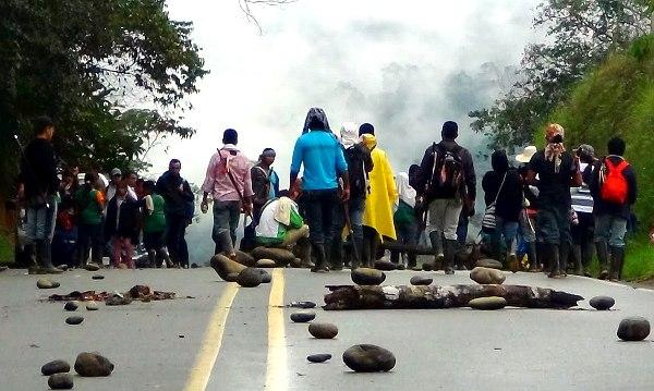 Los 14 pueblos indígenas del Putumayo llevan un mes  movilizándose por sus derechos - Foto: Territorio Tamabioy