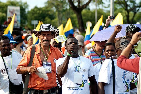 La Ruta Social Común para la Paz surge luego de diversos espacios de confluencia de las organizaciones sociales y populares en la búsqueda de paz con justicia social - Foto: Manuel Chacón