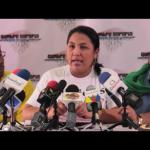 """Olga Quintero: """"Vamos a evaluar la falta de voluntad política del gobierno"""""""