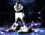 Muhammad Ali. Ilustración: Ian Ransley.