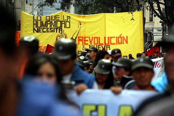 """""""Lo que la humanidad necesita es la revolución"""". Foto: Ernesto Che Mercado Jones."""