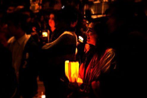 Los manifestantes rechazaron los actos de discriminación y mostraron su solidaridad con la comunidad Lgbti. Foto: Omar Vera.