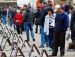 Los familiares de los desaparecidos exigieron al Estado que diga dónde están. Foto: Iván Castaño.