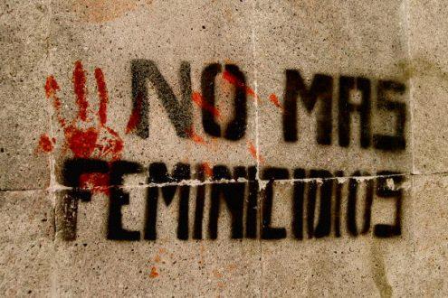 """""""No más feminicidios"""". Foto: Lunita Lu."""