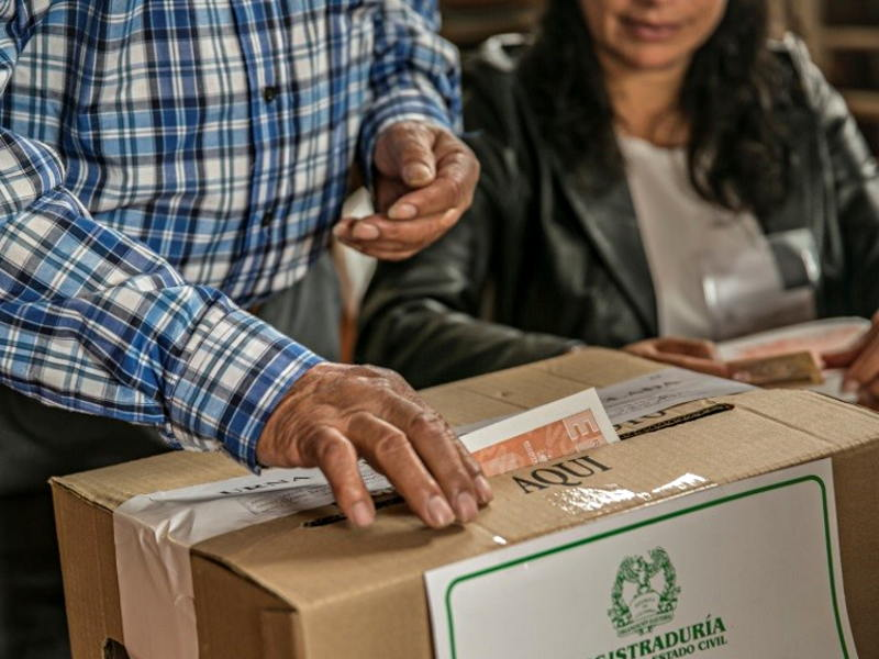 Elecciones. Foto: Registraduría.